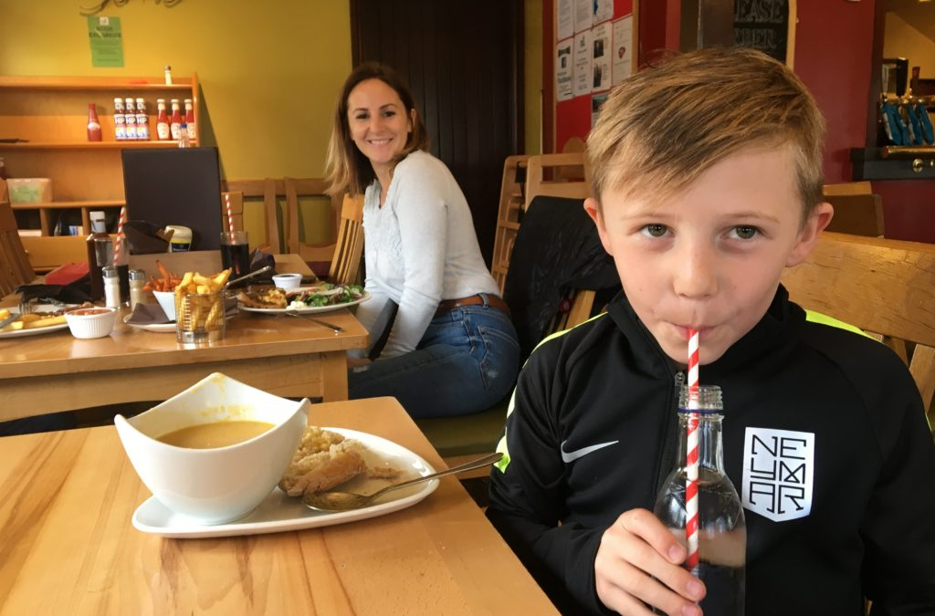 Park Cliffe's popular cafe has now shown the door to single-use plastic items such as straws, cups and bottles